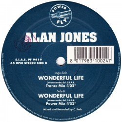 Alan Jones  – Wonderful Life (IMPORT)