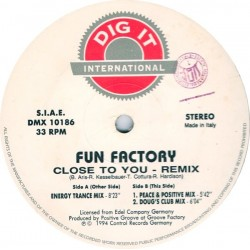 Fun Factory – Close To You (Remix)
