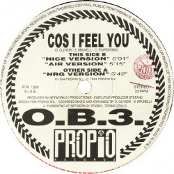 OB3 – Cos I Feel You