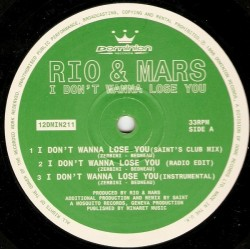 Rio & Mars – I Don't Wanna Lose You