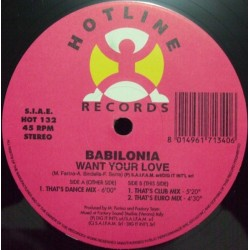 Babilonia – Want Your Love