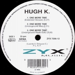 Hugh K. – One More Time