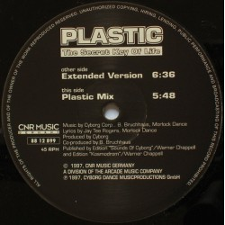 Plastic  ‎– The Secret Key Of Life