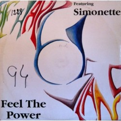 The Happy Island  Featuring Simonette ‎– Feel The Power