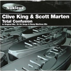 Clive King & Scott Marten ‎– Total Confusion