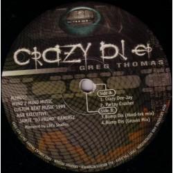Greg Thomas – Crazy DJ EP