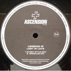 Legend B ‎– Lost In Love (IMPORT)