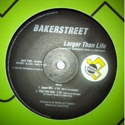 Bakerstreet ‎– Larger Than Life (JOYA¡)
