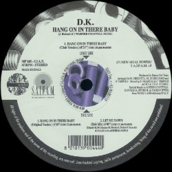 DK – Hang On In There Baby
