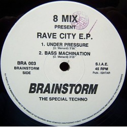 8 Mix ‎– Rave City EP