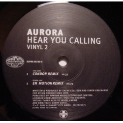 Aurora ‎– Hear You Calling (Condor mix)