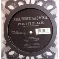 Axel Force Feat. Jackie  ‎– Paint It Black