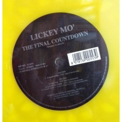 Lickey Mo ‎– The Final Countdown (VINILO AMARILLO)