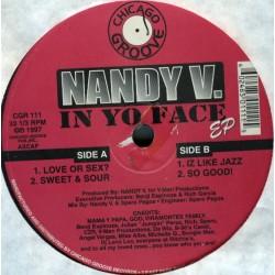 Nandy V – In Yo Face EP (ROLLAZO¡¡)