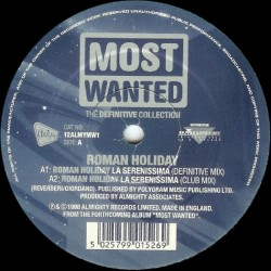 Most Wanted - The Definitive Collection (INCLUYE EL TEMAZO LA SERENISSIMA¡)
