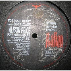 Alison Price ‎– For Your Heart