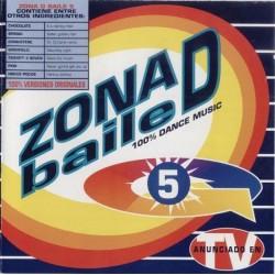 Zona D Baile Vol. 5 (INCLUYE SPANIC,PIROPO & HOCUS POCUS¡)