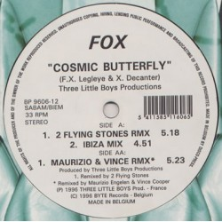 Fox ‎– Cosmic Butterfly
