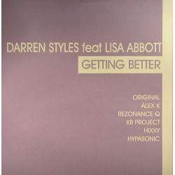 Darren Styles Feat Lisa Abbott – Getting Better (DISCO DOBLE.TEMAZO¡¡)