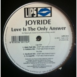 Joyride - Love Is The Only Answer (CANTADOTE¡)
