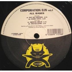 Corporation DJ's ‎– Vol.2 - All Bases