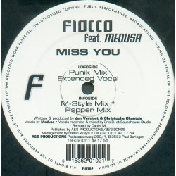 Fiocco Feat. Medusa  – Miss You