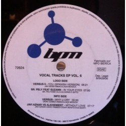 Vocal Tracks EP Vol.6 (INCLUYE VERSUS-YOU,SR PELY-IN YOUR EYES & VERSUS-WHY U CRY¡)