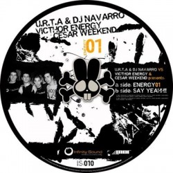 U.R.T.A & DJ Navarro vs. Victhor Energy & Cesar Weekend ‎– Energy 01