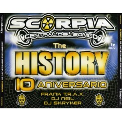 Scorpia The History 10 Aniversario (TRIPLE CD)