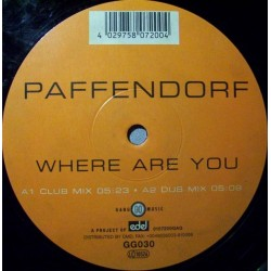 Paffendorf ‎– Where Are You (MELODIA DEL 99)