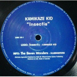 Kamikaze Kid  - Insectia / The Klubmasters ‎– The Seven Wonders