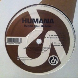 Humana ‎– When You Believe (IMPORT)