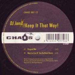 DJ JamX – Keep It That Way