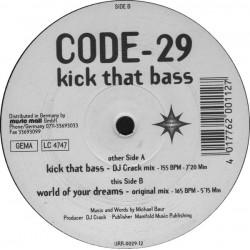 Code-29 – Kick That Bass