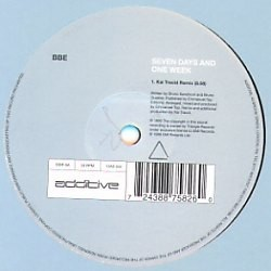 BBE* – Seven Days And One Week (2 MANO,ORIG. + REMIXES¡¡)