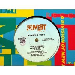 Techno City - Vamos Techno (IMPORT)