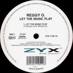 Reggy O ‎– Let The Music Play (TEMAZO¡¡)