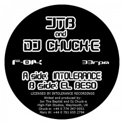 JTB And DJ Chuck-E – Intolerance / El Beso (MELODIÓN¡¡)