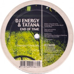 DJ Energy & Tatana – End Of Time (EDICIÓN HOLANDESA)
