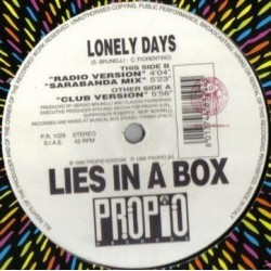Lies In A Box ‎– Lonely Days
