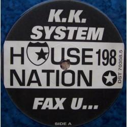 KK System - Fax U (IMPORT)