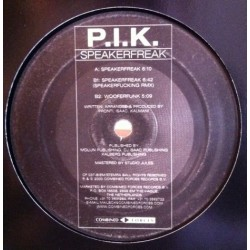 PIK ‎– Speakerfreak (IMPORT)