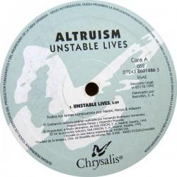 Altruism – Unstable Lives