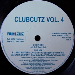 Clubcutz Vol.4 (JOYITA¡¡ COPIA IMPORT...BEATBUSTERS - QUE PASA¡¡¡)