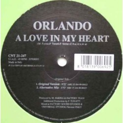 Orlando  – A Love In My Heart