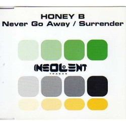Honey B - Never Go Away / Surrender(2 MANO,CANTADOS REMEMBER MUY BUENOS¡¡¡)