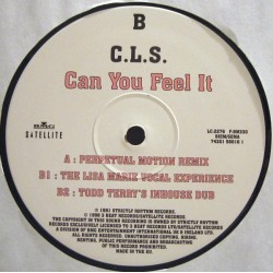 CLS ‎– Can You Feel It