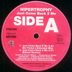 Hypertrophy – Just Come Back 2 Me (NACIONAL)