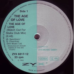 Age Of Love ‎– The Age Of Love (Watch Out For Stella Club Mix)
