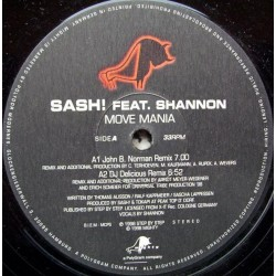 Sash – Move Mania
